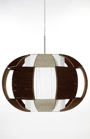 Bilde av Globen Lighting Pendel Linda XL Brun