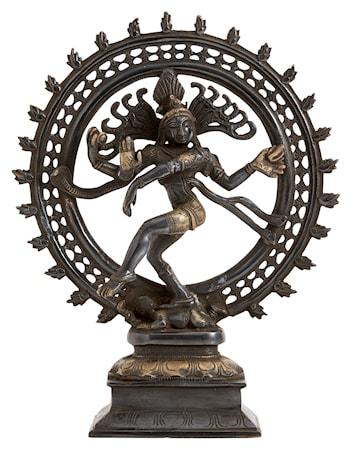 Shiva L 34 cm Svart