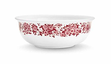 Skål, Rosamunde, röd, Ø 15,7 cm
