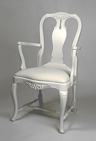 Kallholmen Fredrika karm stol - antikvit
