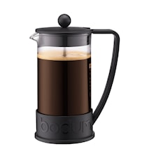 Brazil Kaffebryggare 8 koppar 1 liter Svart