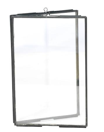 Madam Stoltz Tupla Valokuvakehys 10x15 cm - Musta