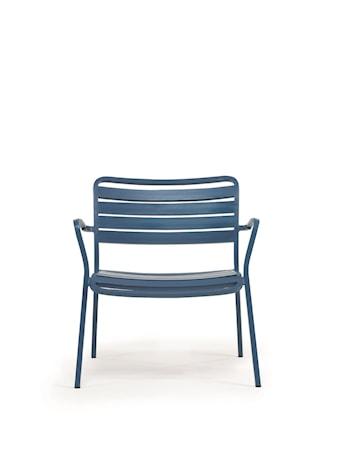 Ethimo Ocean lounge stol m. armstöd - Blå