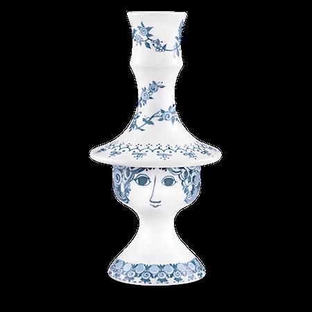 Bilde av Björn Wiinblad Lysestake, Rosalinde, blå, 17 cm