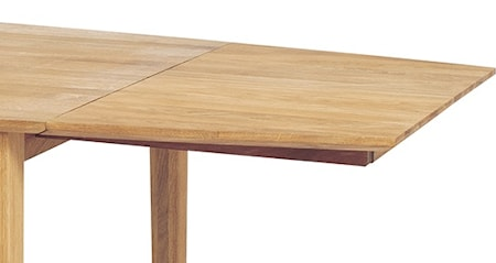 Falsterbo 2-pack klaffar till Eka 200 matbord - Vitlack