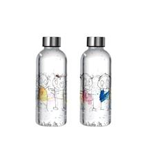 Poul pava original ICONS Vattenflaska BPA-fri 0,65 L