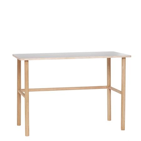 Hübsch Skrivbord 110x57xh75 cm - Natur/Grå