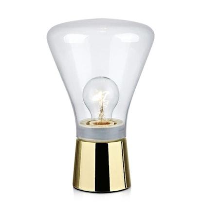 Markslöjd Jack Bordslampa Brass/Clear