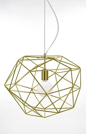 Bilde av Globen Lighting Pendel Diamond Messing