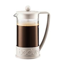 Brazil Kaffebryggare 8 koppar 1 liter Vit