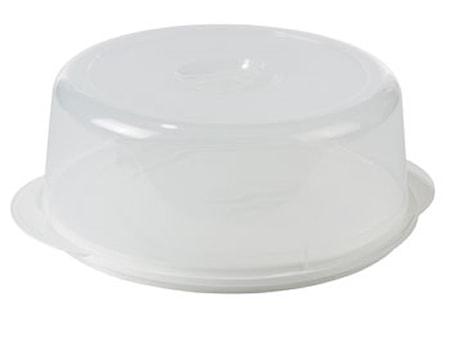 Nordiska Plast Madklokke Ø33,5 klar/hvid