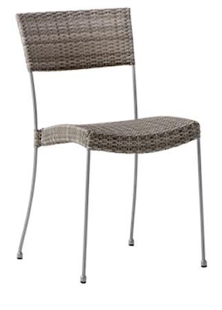 Sika Design Comet stol - Teak grå