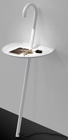 Martinelli Luce Clochard sidobord m. LED-belysning ? Vit