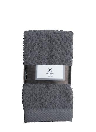 Galzone Håndklæde - 100% bomuld - 400 g - Grå - L 70,0cm - B 50,0cm - Sleeve - Stk. thumbnail