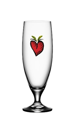 Kosta Boda Friendship Hearts Ølglas 50 cl thumbnail