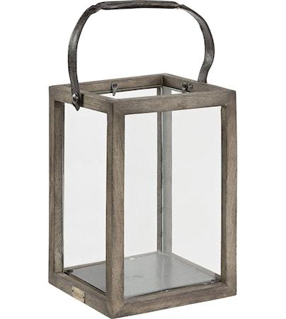 Artwood Lantern vintage ljuslykta