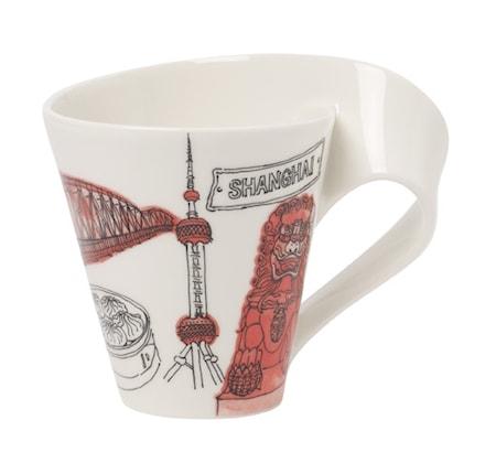 Villeroy & Boch NewWave Caffe Shanghai Muki 0,35l GB