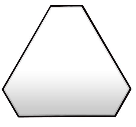Bilde av Novel cabinet makers Reflection triangle speil
