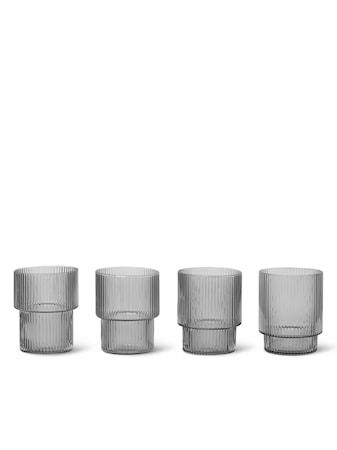 Ripple Glas 4-pack Smoked Grey