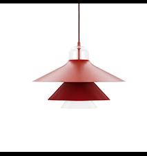 Ikono Lampa Röd L