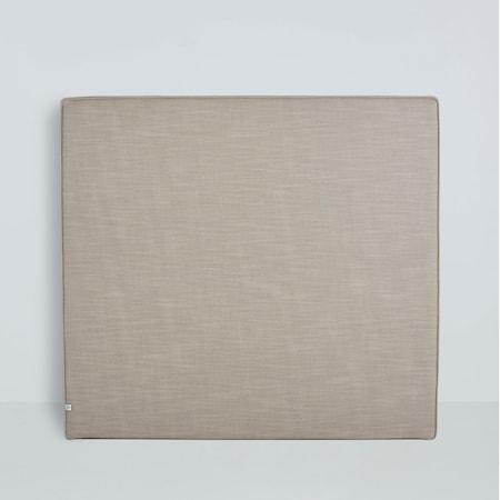 Mille Notti Alexandra sänggavel linen - 80 cm, Natur