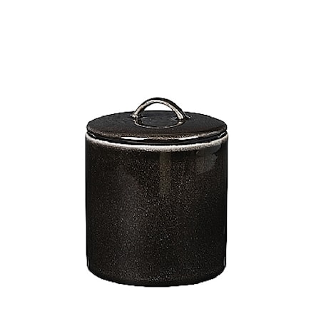 Förvaringsburk 100cl Låg, Nordic Coal