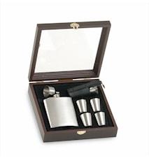 Flask Set- Fickplunta med tillbehör
