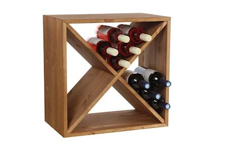 Traditional Wine Racks Wine Cube Viinipulloteline, 24 pullolle