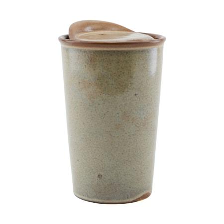 Togo mugg brun