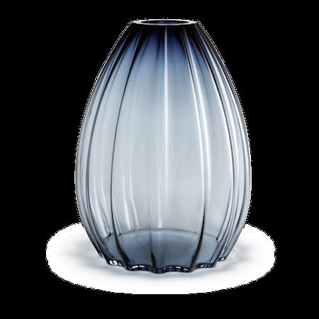 Holmegaard 2Lips Maljakko, korkeus 45 cm, Sininen