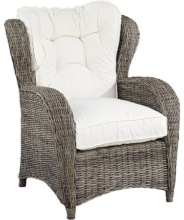 Artwood Jacksonville Wingchair exkl. dyna - Kubu Grey