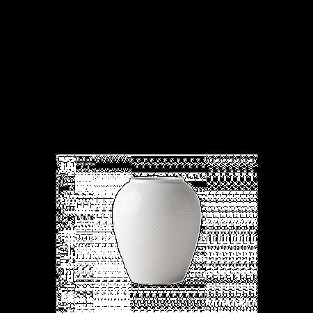 Rhombe Vas Vit Porslin 16,5cm