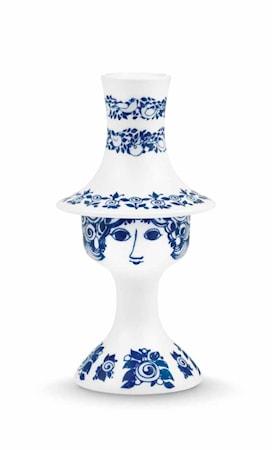 Bilde av Björn Wiinblad Lysestake, Rosalinde, blå, H 16,5 cm