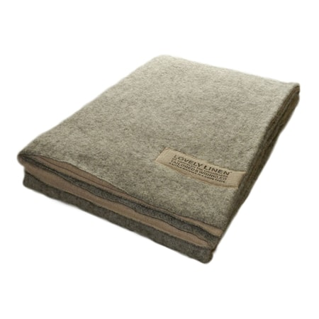 Lovely Linen by Kardelen Double blanket wool/linen filt