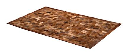 Skandilock Patch Kohudsmatta 120x180 cm - Brownish