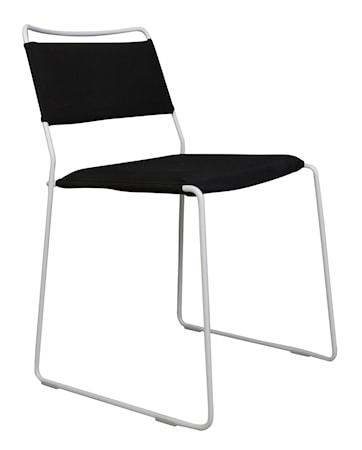 OK Design One wire stol - Black/white
