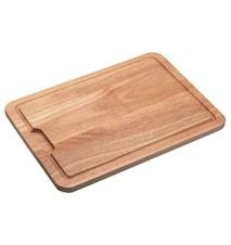 Skärbräda Rubberwood 38x28x1,5 cm