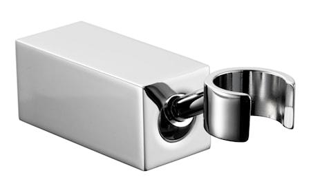 Tapwell XSUP023 Fyrkantig justerbar handduschhållare Krom
