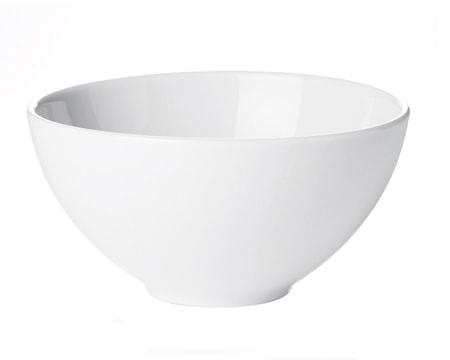 Pillivuyt Cecil Salaattikulho Korkea Valkoinen, 5,8 L, 30 cm