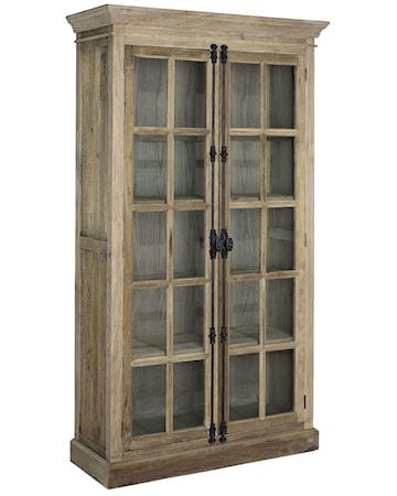 Artwood Elmwood cabinet vitrinskåp - Brun