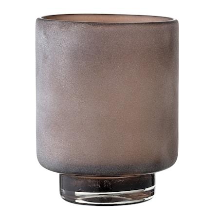 Bloomingville Värmeljushållare Brun Glas 10x13cm
