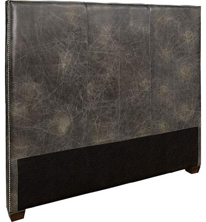 Artwood Viscount Sänggavel 180 Leather Fudge