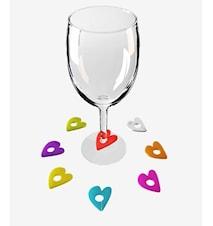 Love- Glasmarkör