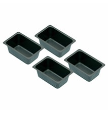 Form Mini 4-pack Non Stick 7x3 cm
