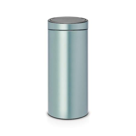 Brabantia Touch Bin NEW plastinnerhink 30 L Metallic Mint