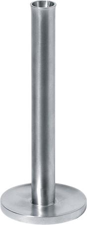 Alessi Kynttilänjalka 23 cm, alumiini