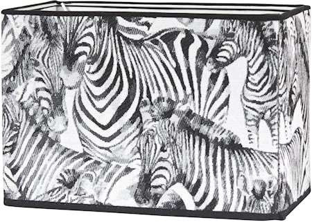 Rakel Lampskärm Zebra 19cm
