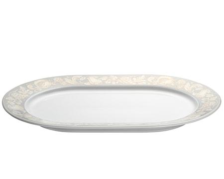 Pillivuyt Solene serveringsfat ovalt vit 36×25 cm