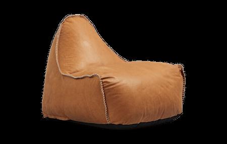 SACKit RETROit Dunes Läder Sittsäck - Cognac