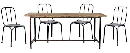 Nordal Raw Downtown møbelgruppe 4 stole thumbnail